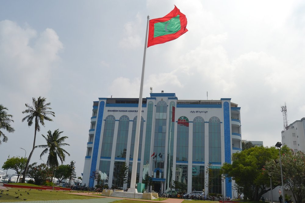 The Malé Police Headquarters