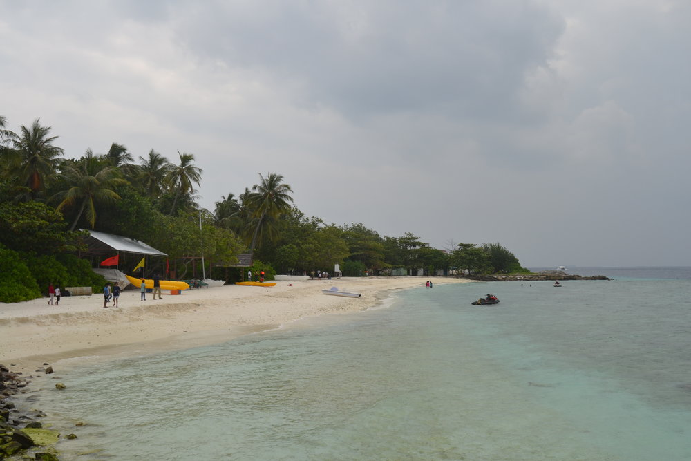 One of the beaches of Villimale