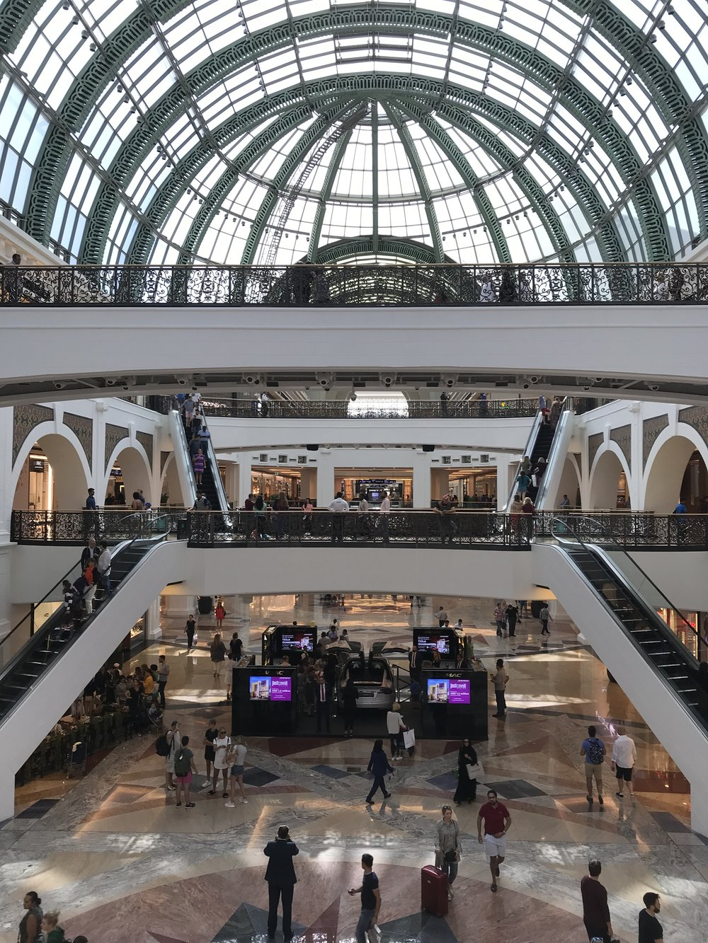 A small slice of Mall of the Emirates