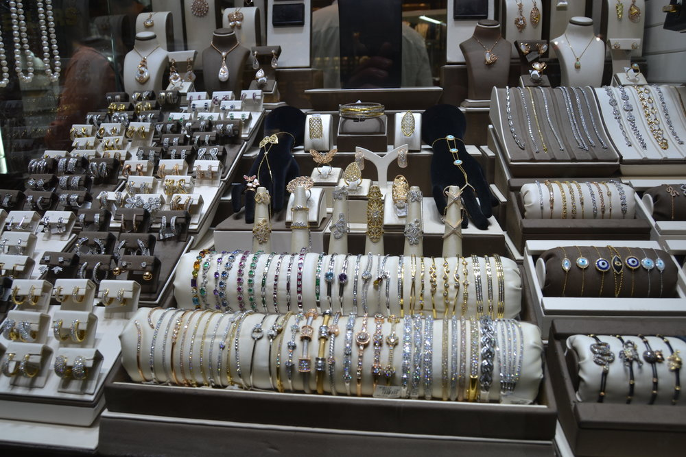 Bracelets in the Gold Souk