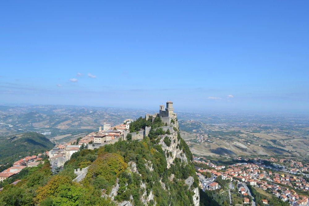 Guiata Tower in San Marino