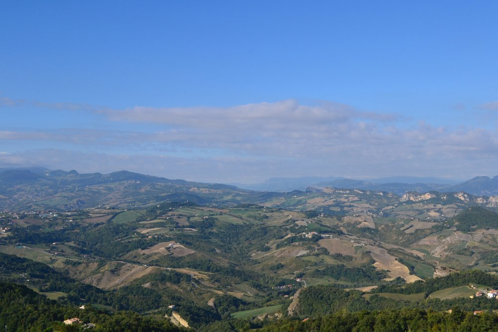 The Rolling Hills of Italy