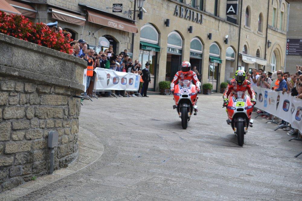 Motorcross Race in San Marino