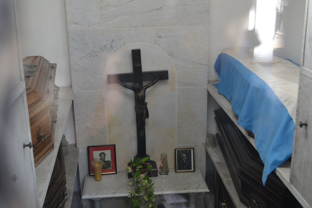 The grave of a prominent Argentine