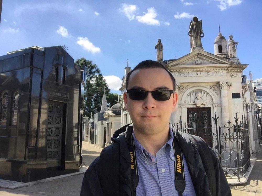 Selfie in La Recoleta Cemetery.jpg