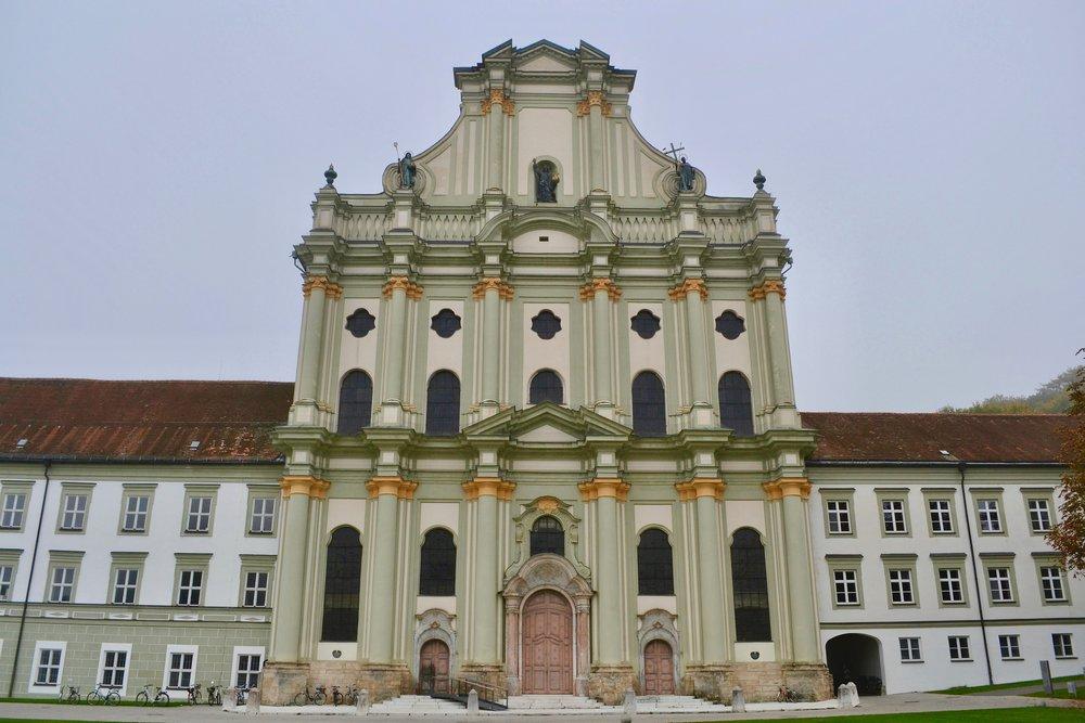 Exterior of Fürstenfeld Abbey Church