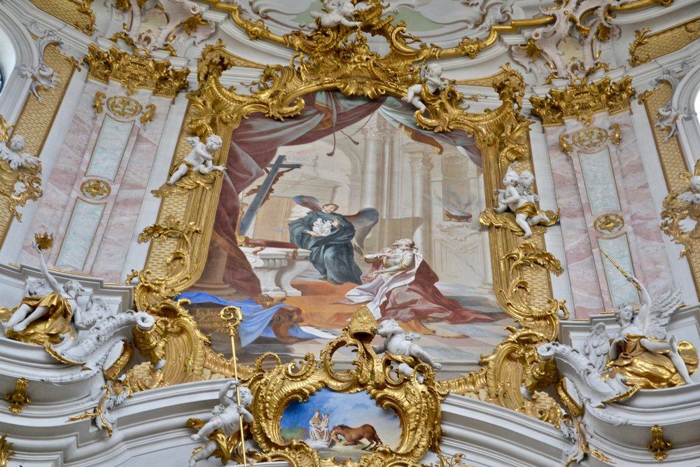 Ettal Abbey Foundation Painting