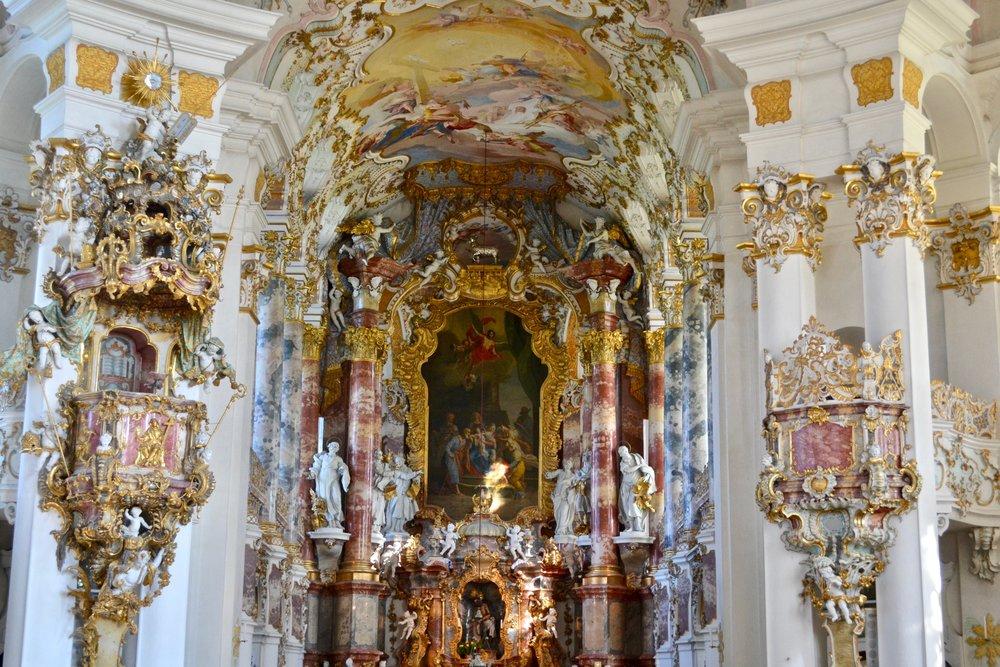 Wieskirche High Altar