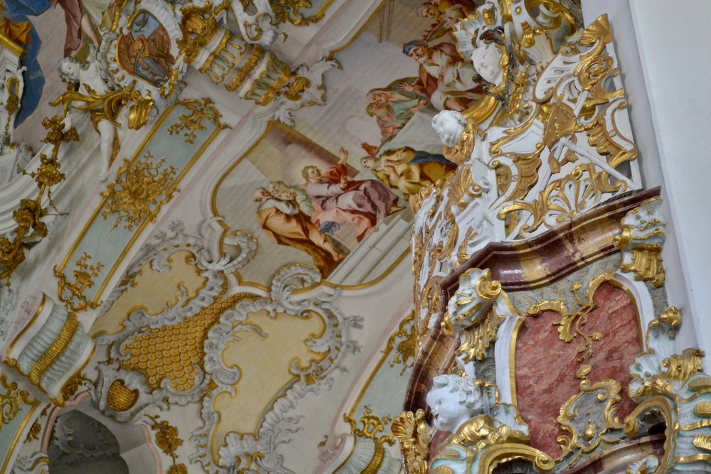Wieskirche Sculpture and Painting