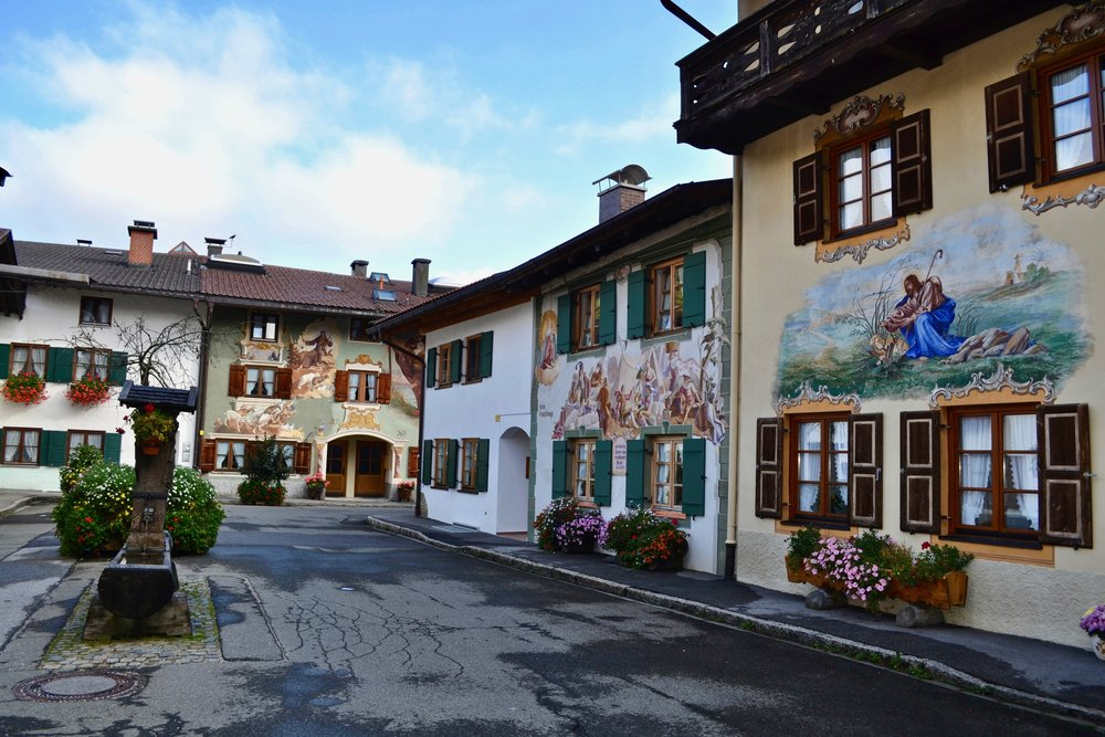 Group of Mittenwald Buildings