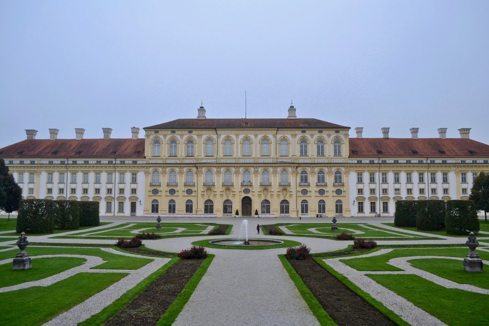 View of New Schleissheim Palace