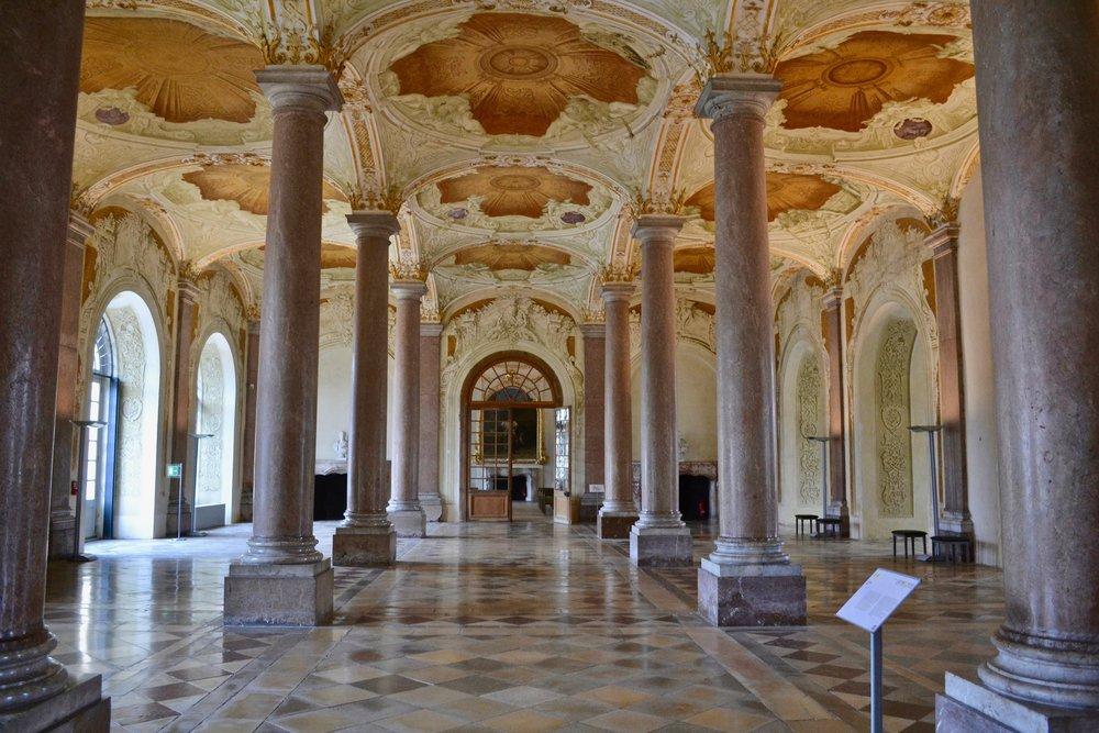 Schleissheim Palace Entrance Hall