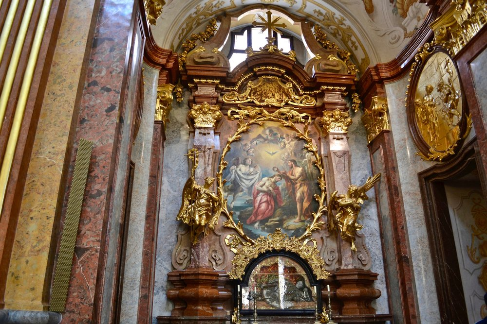Melk Abbey Side Altar