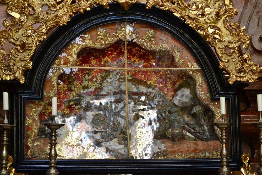 "Catacomb Saint ""St. Friedrich"""