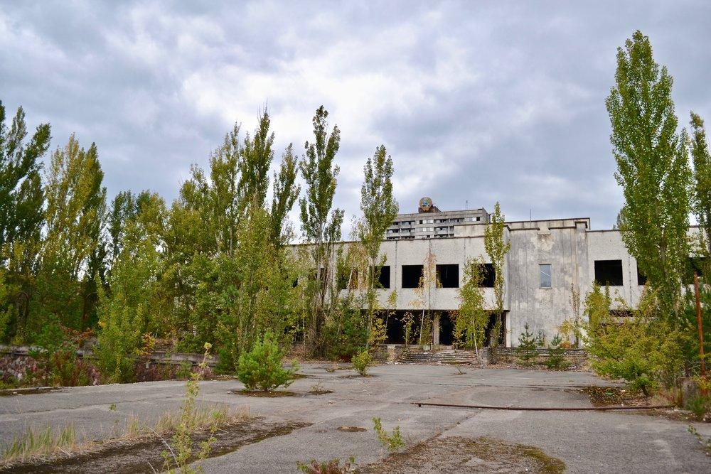 View of Pripyat
