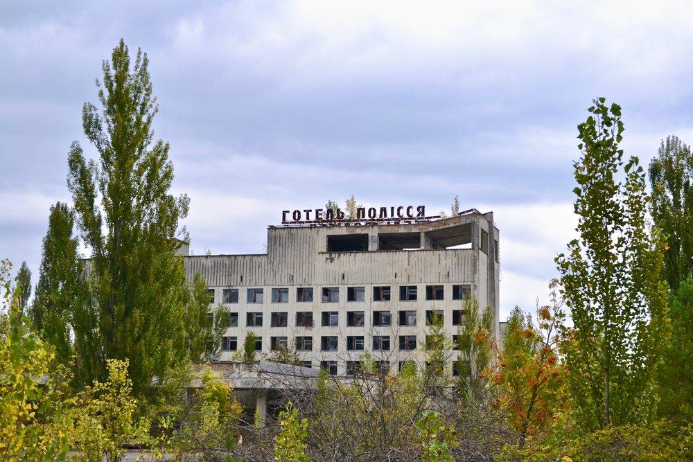 Abandoned Building in Pripyat