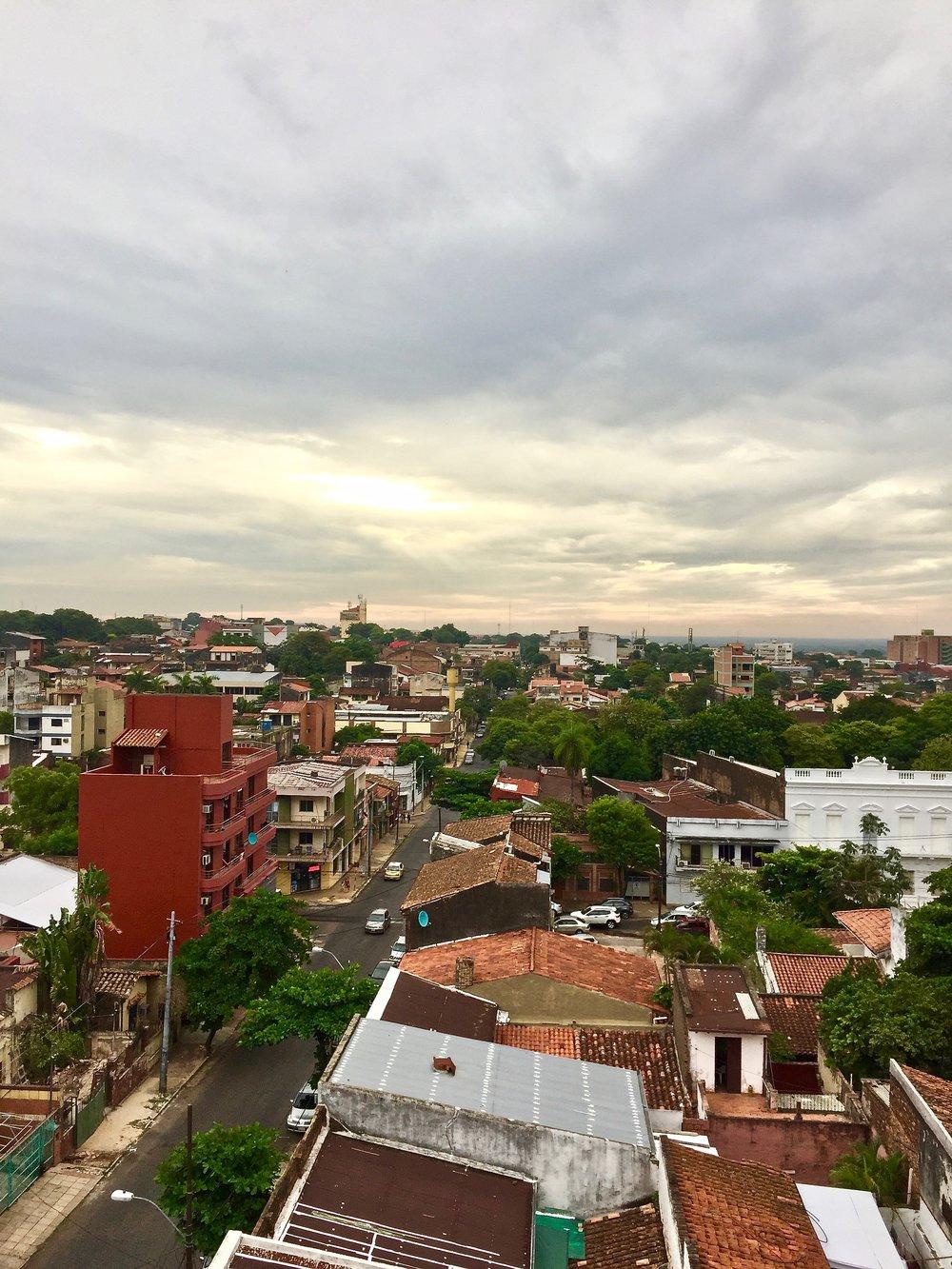 A view of Asuncíon, Paraguay