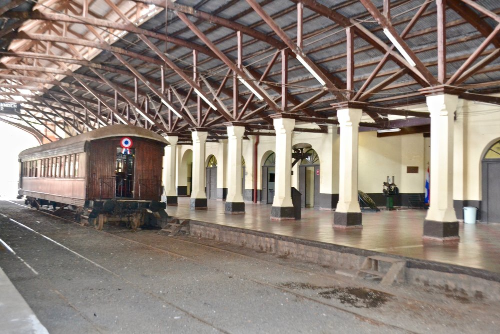 Museo Ferroviario in Asuncíon