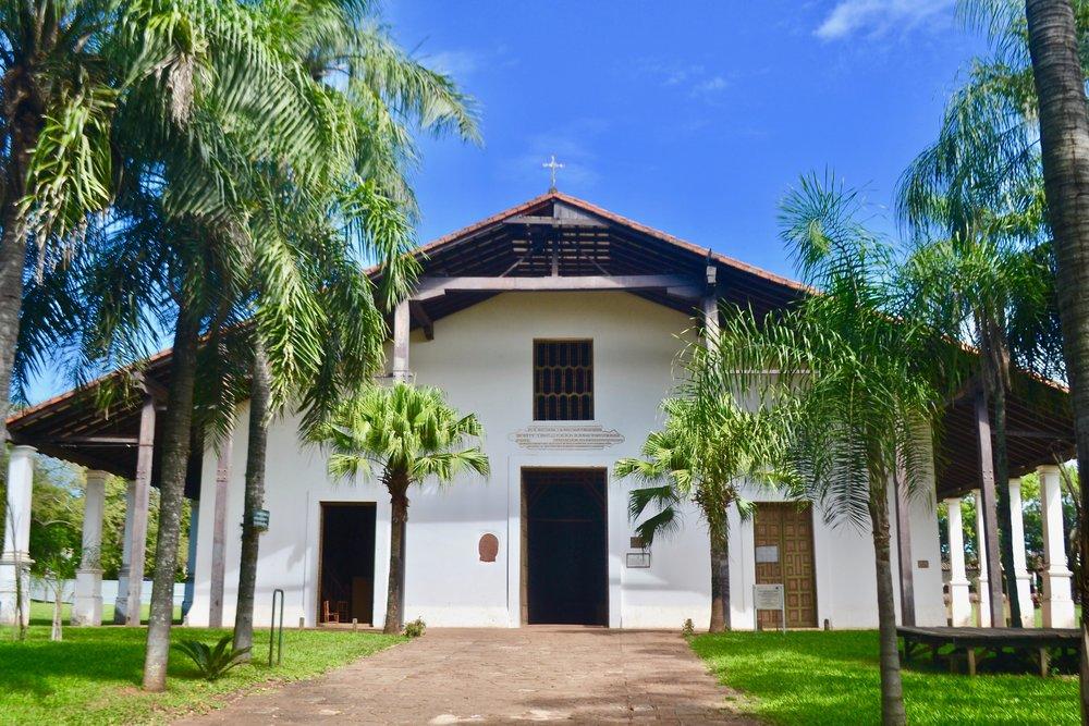 Iglesia de San Buenaventura in Yaguarón