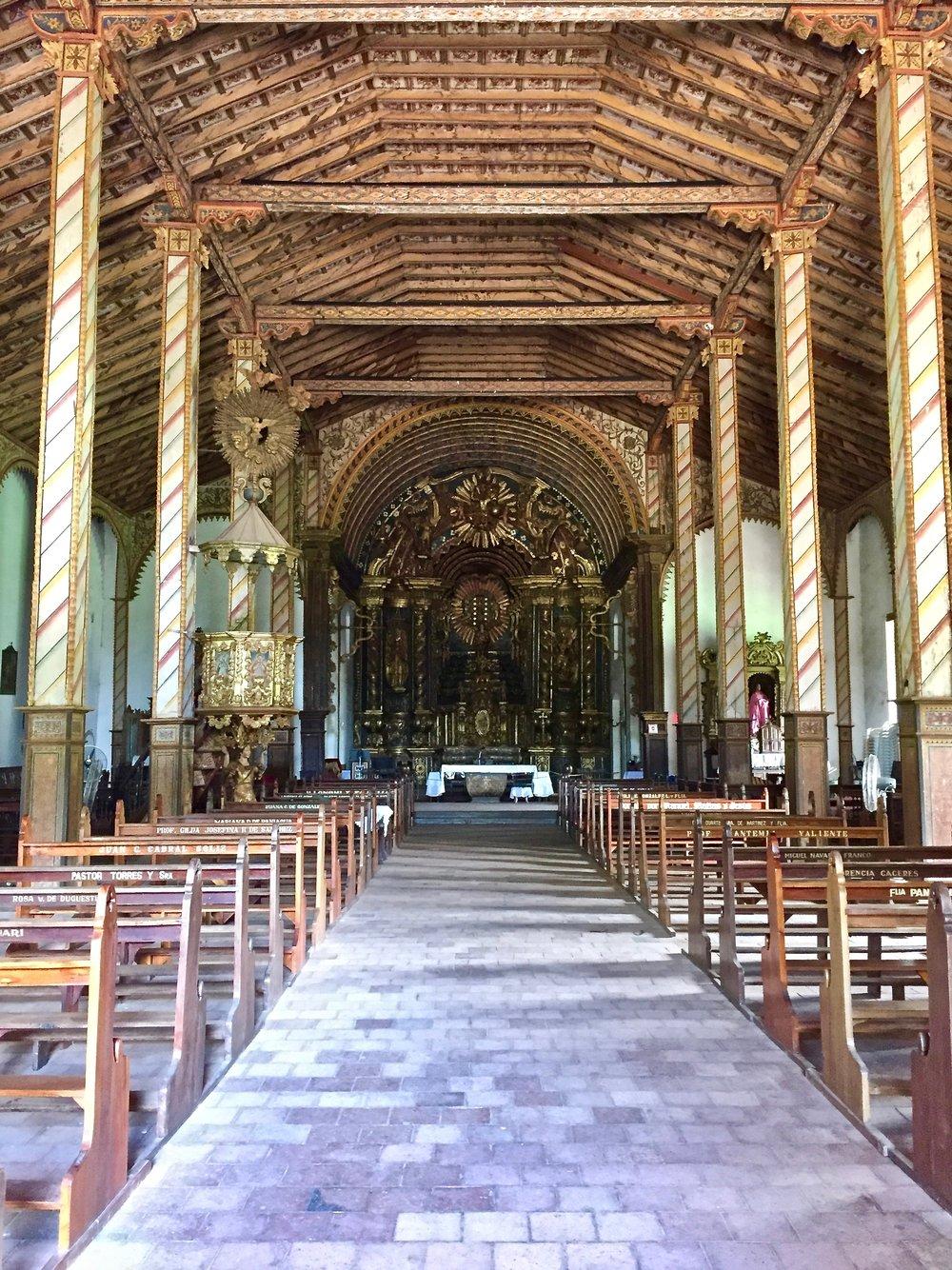 Church of San Buenaventura in Yaguarón