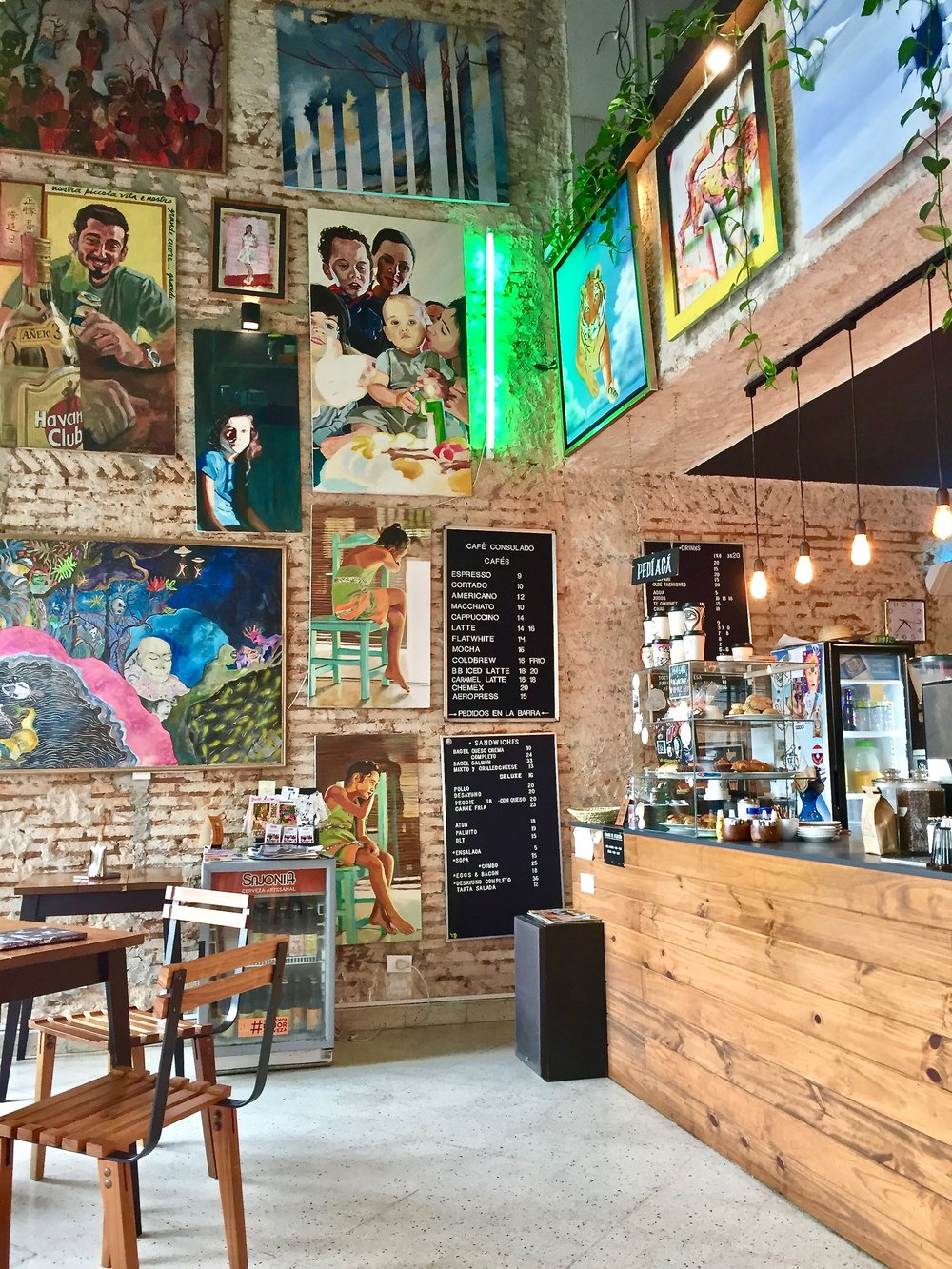 Cafe Consulado in Asuncíon