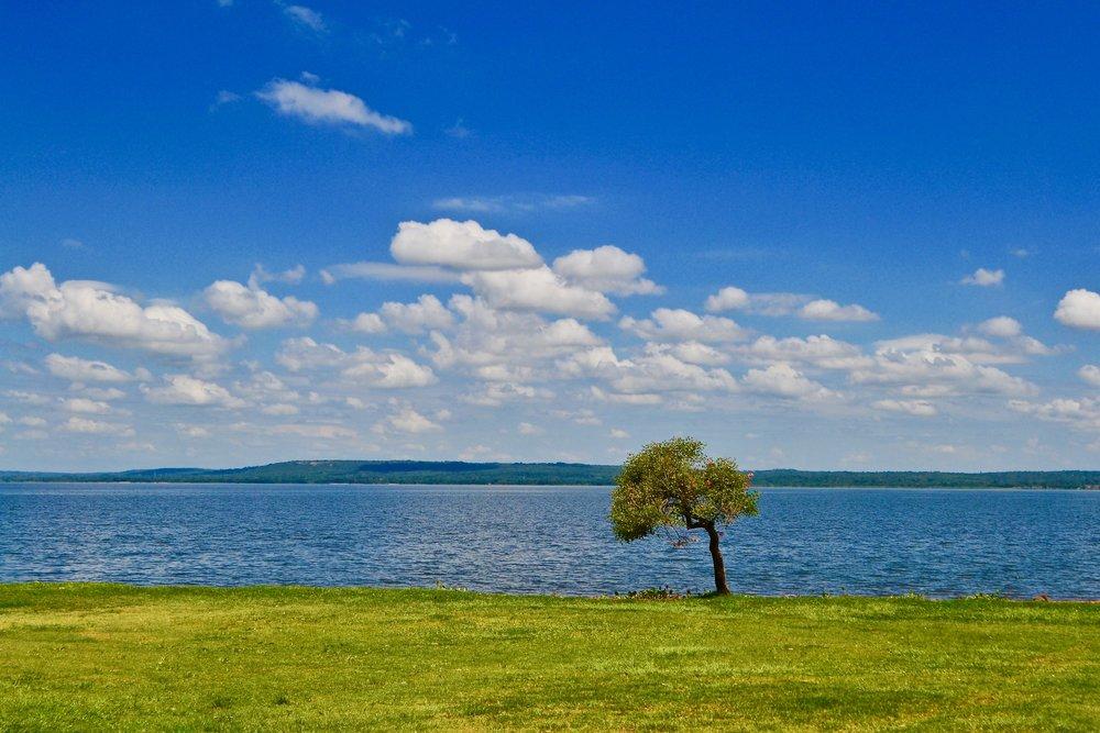 View of Ypacaraí Lake