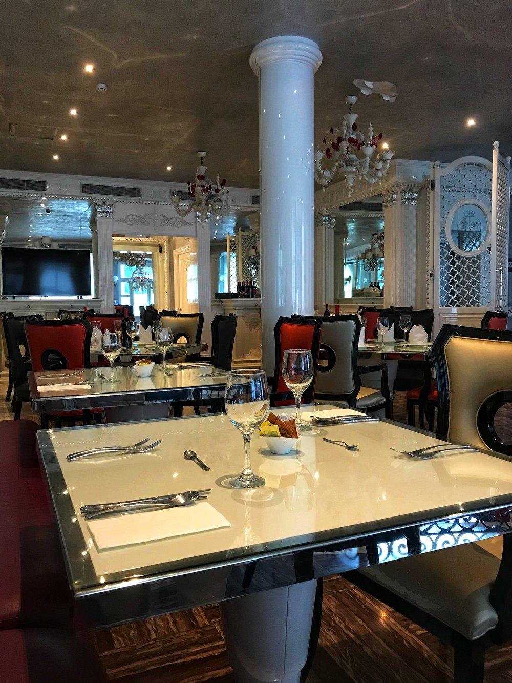 The Villa Palma Boutique Hotel restaurant