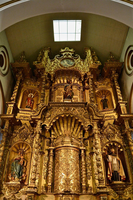 Altar de Oro in the Church of San Jose