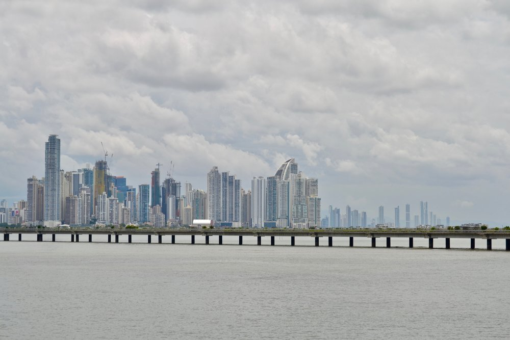 View of Downtown Panama City