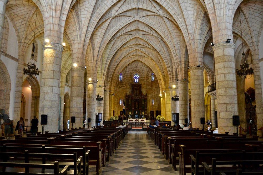 Interior of the Cathedral of Santa Maria la Menor