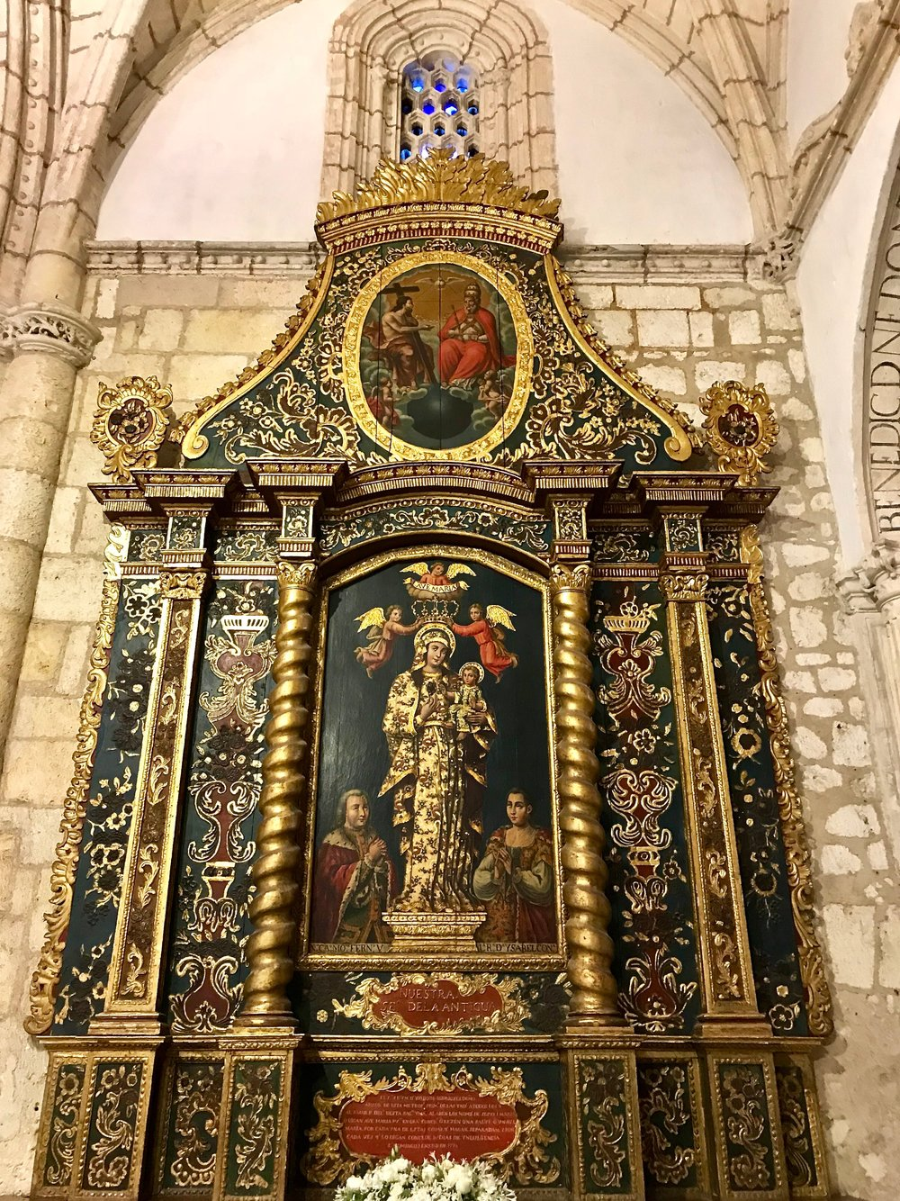 Santo Domingo Cathedral Side Altar.jpg