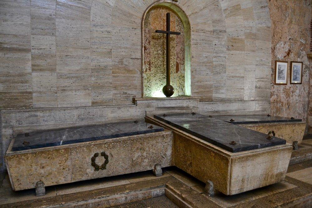 National Pantheon of the Dominican Republic Sarcophagi.jpg