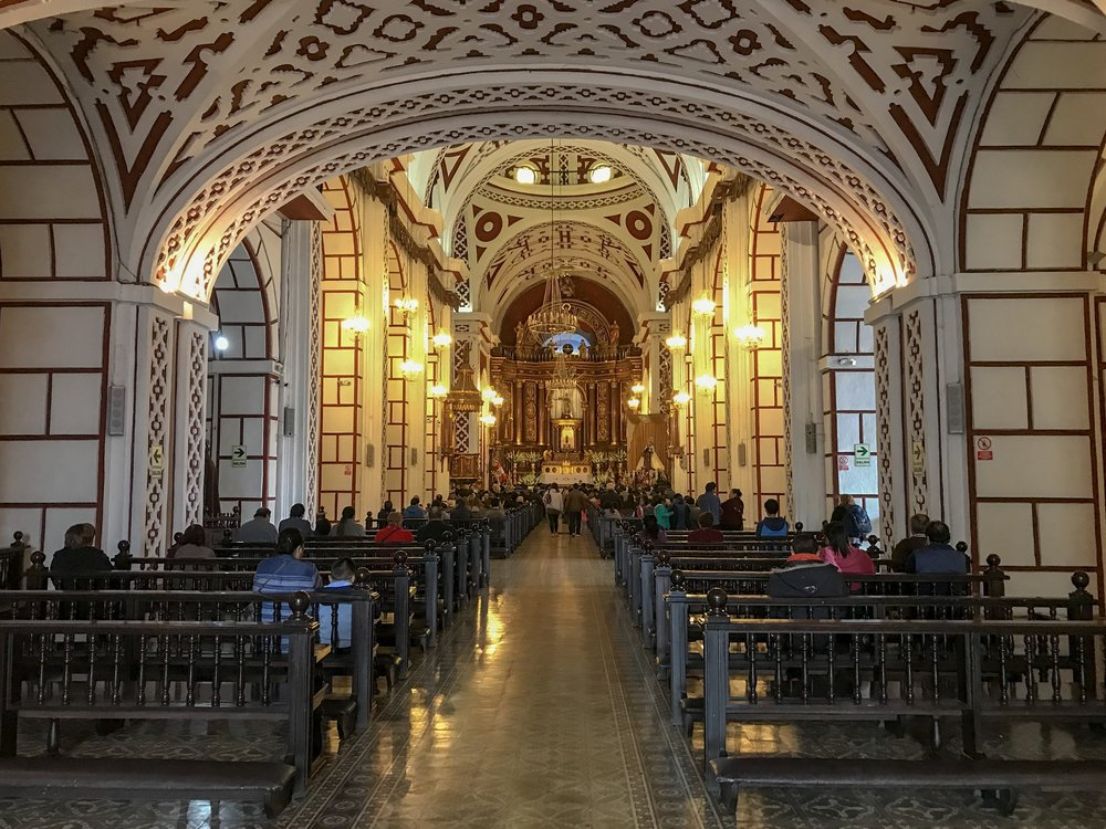Interior of San Francisco