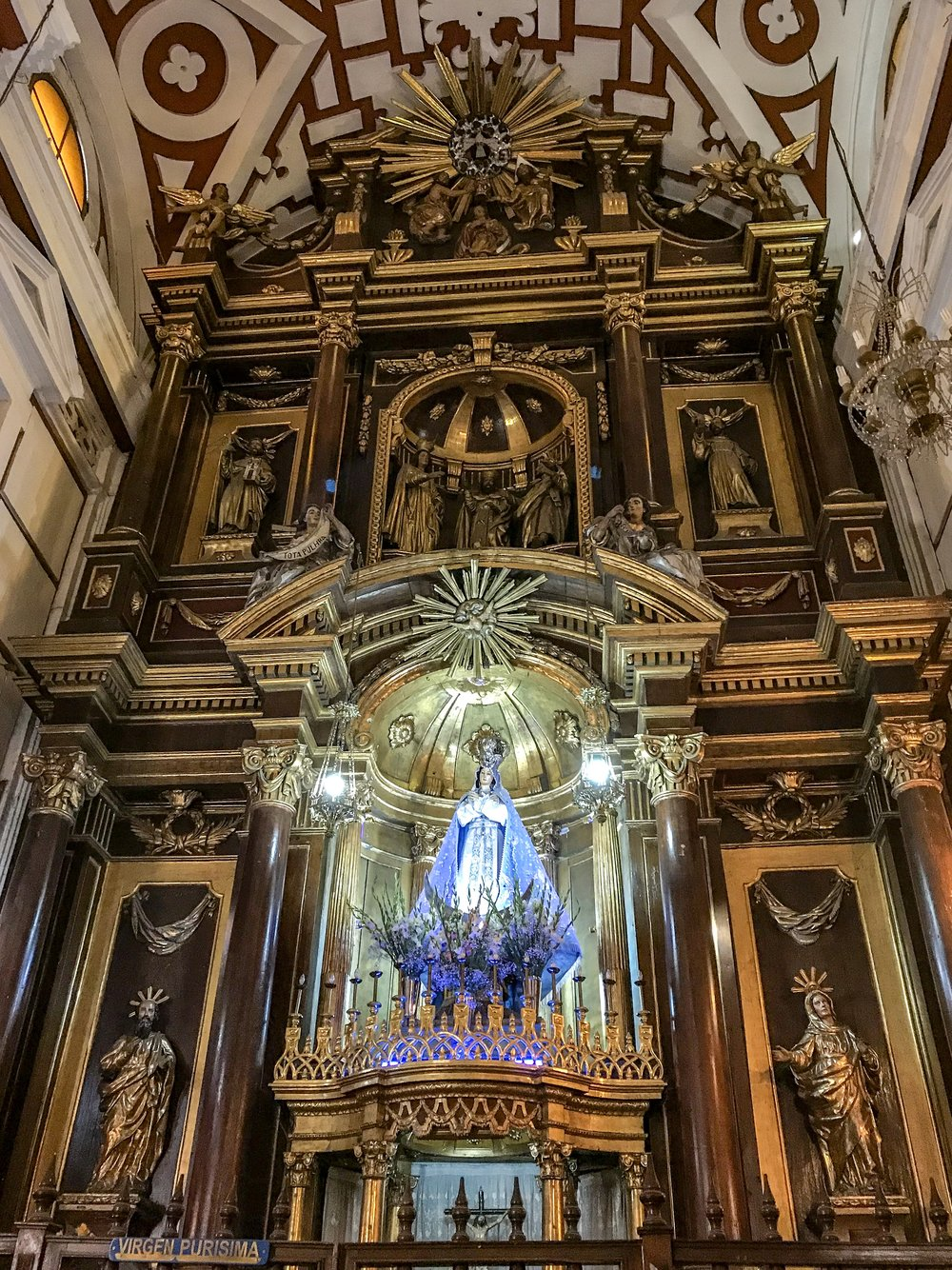 Virgin Most Pure in Church of San Francisco.JPG