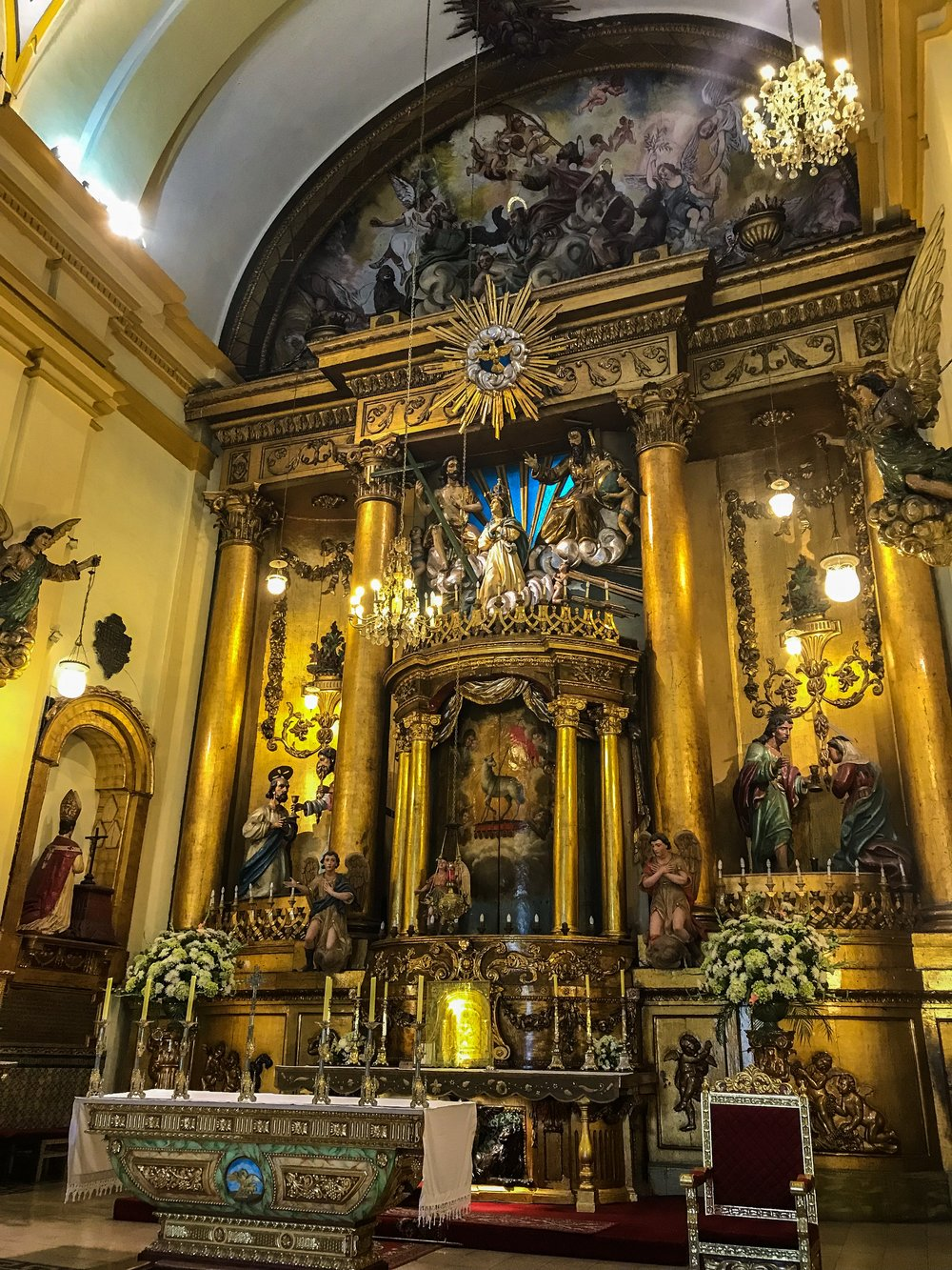Lima Cathedral Chapel
