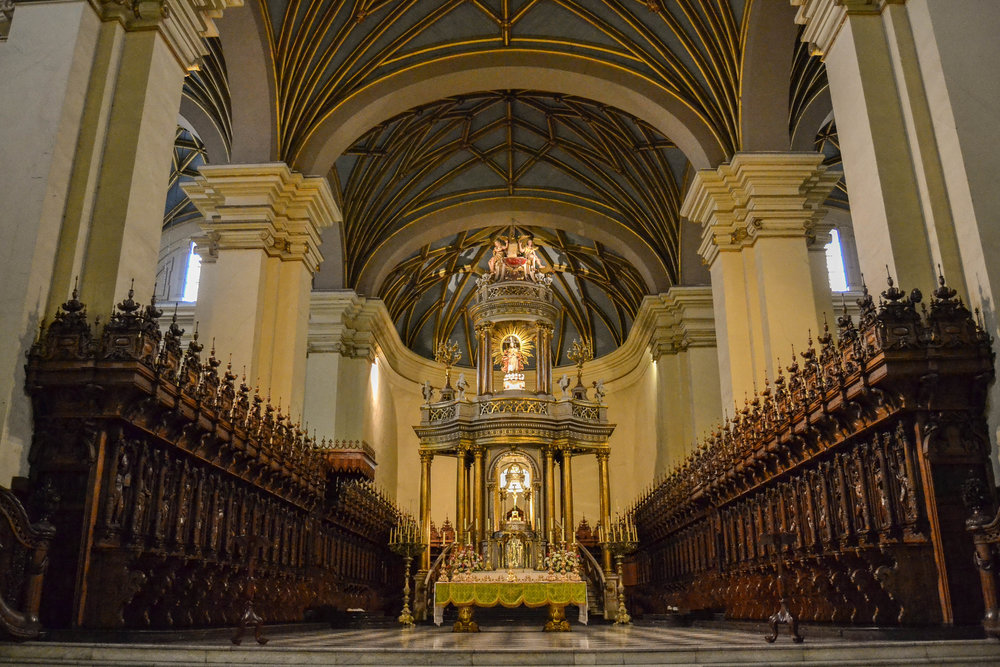 Lima Cathedral Main Altar