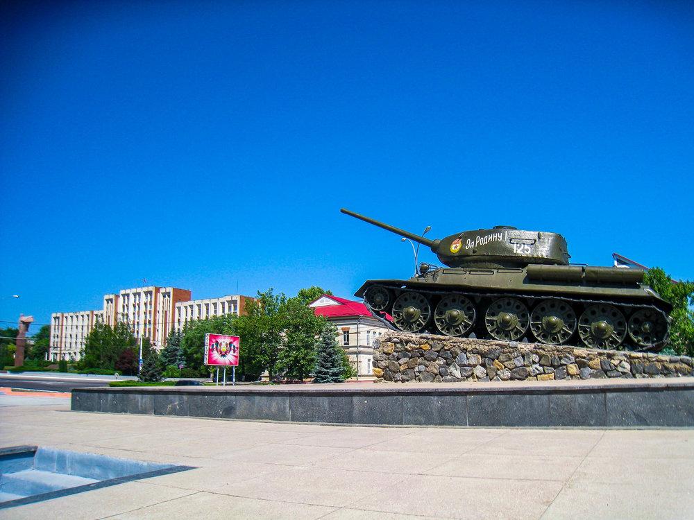 Transnistria War Tank