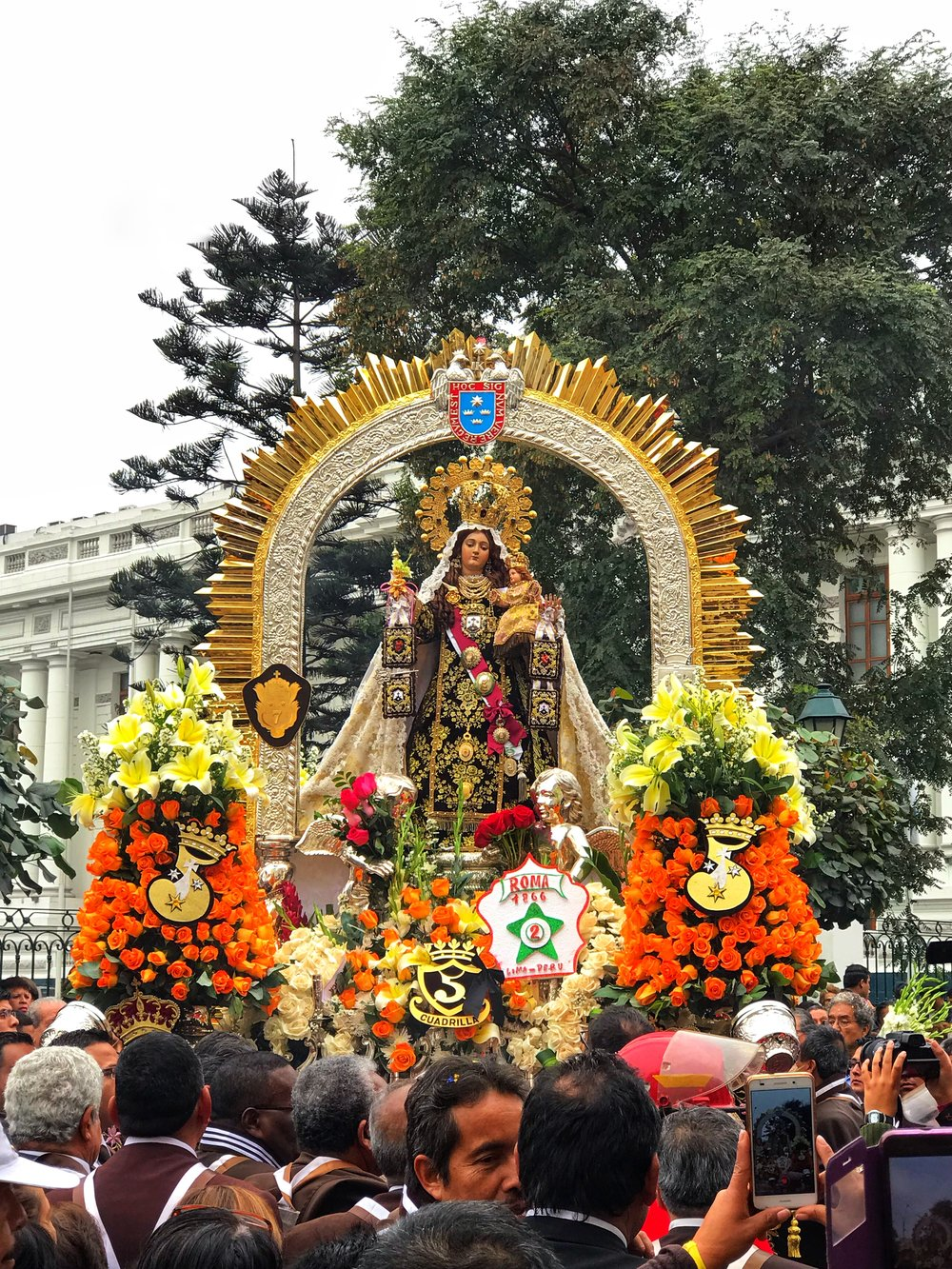 Frontal View of Our Lady of Carmel