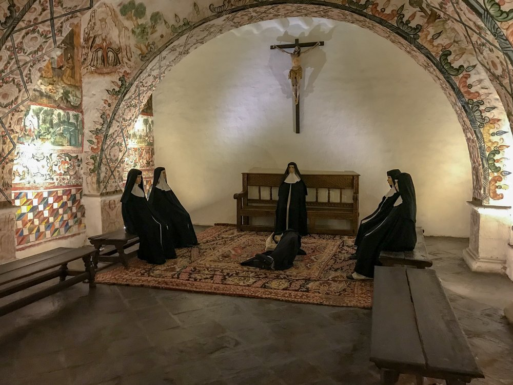 Nuns of St. Catherine of Siena Monastery in Cusco.JPG