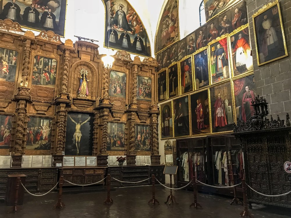 Cathedral of Cusco Sacristy
