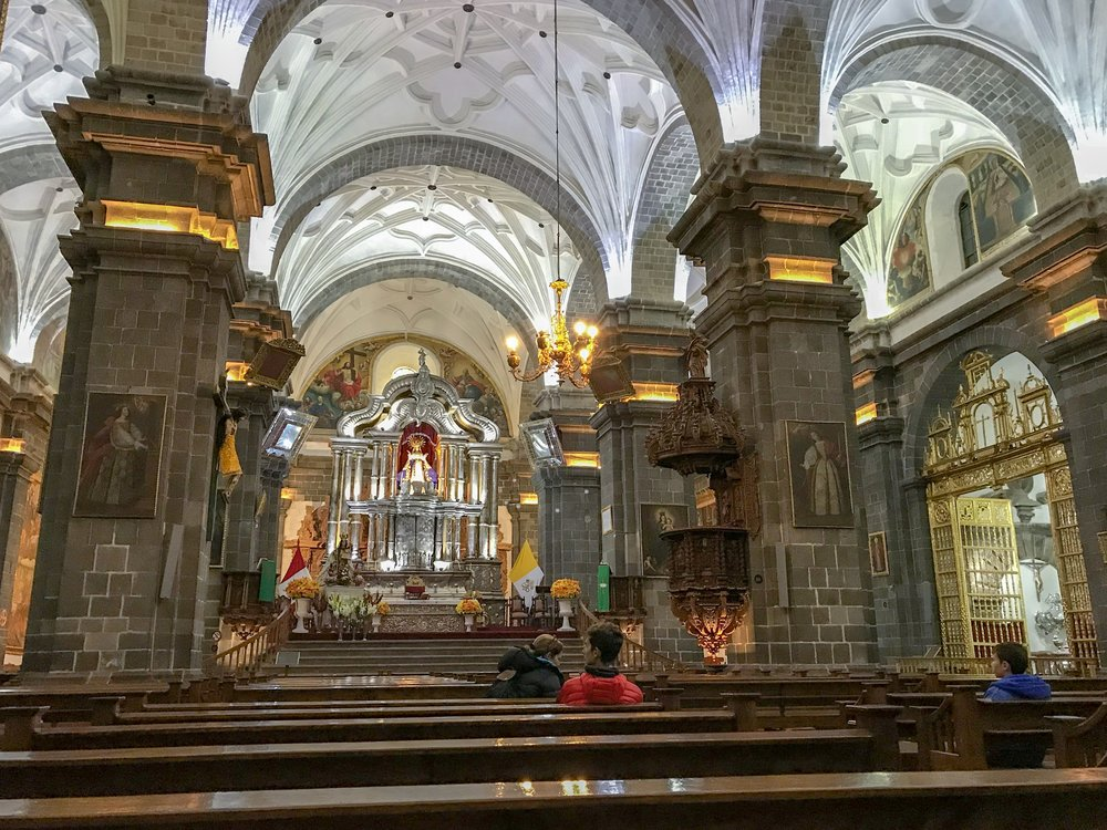 Cathedral of Cusco Interior