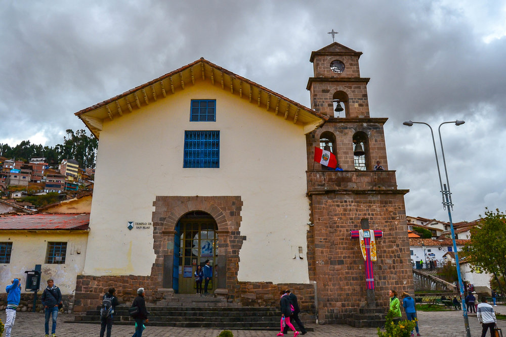 Church of St. Blase in Cusco