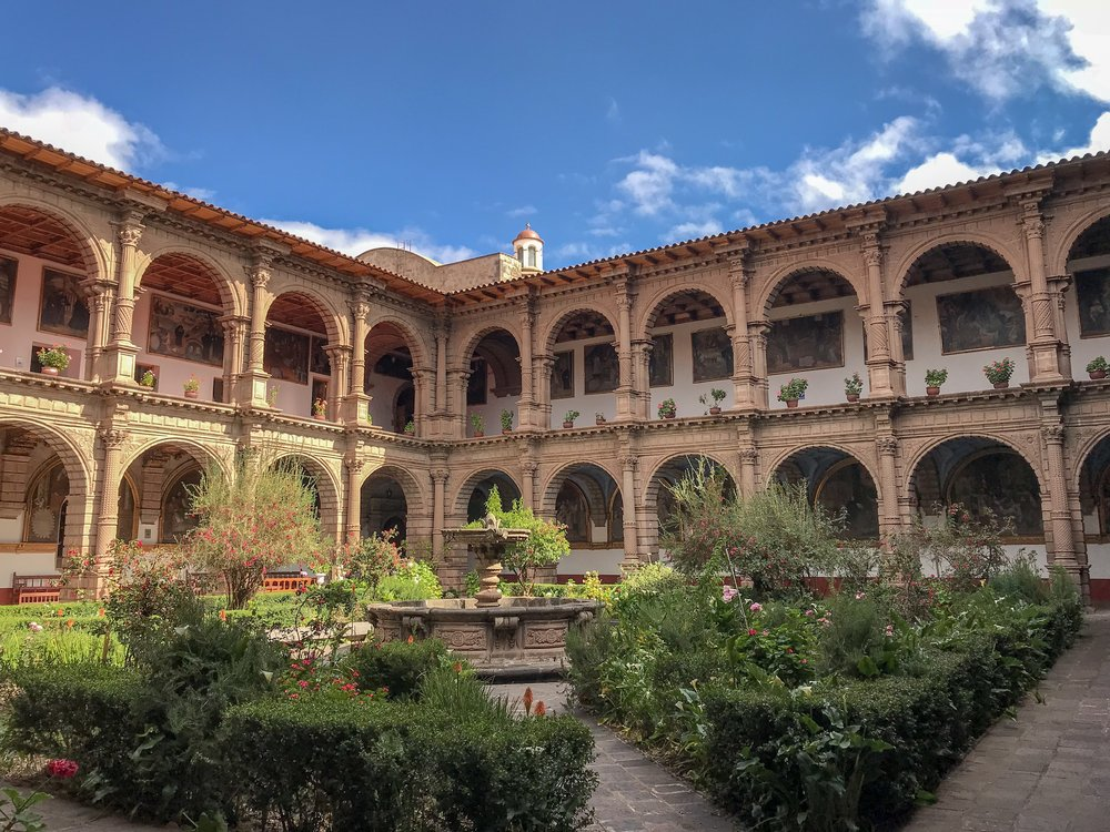 Cloister of the Convent of the Merced
