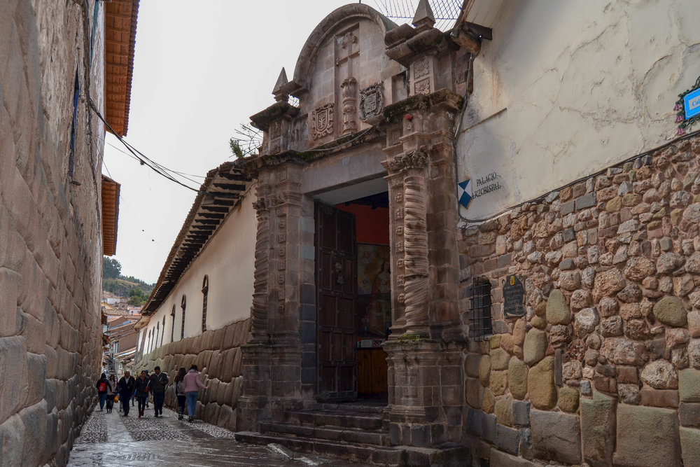 Archbishop's Palace in Cusco
