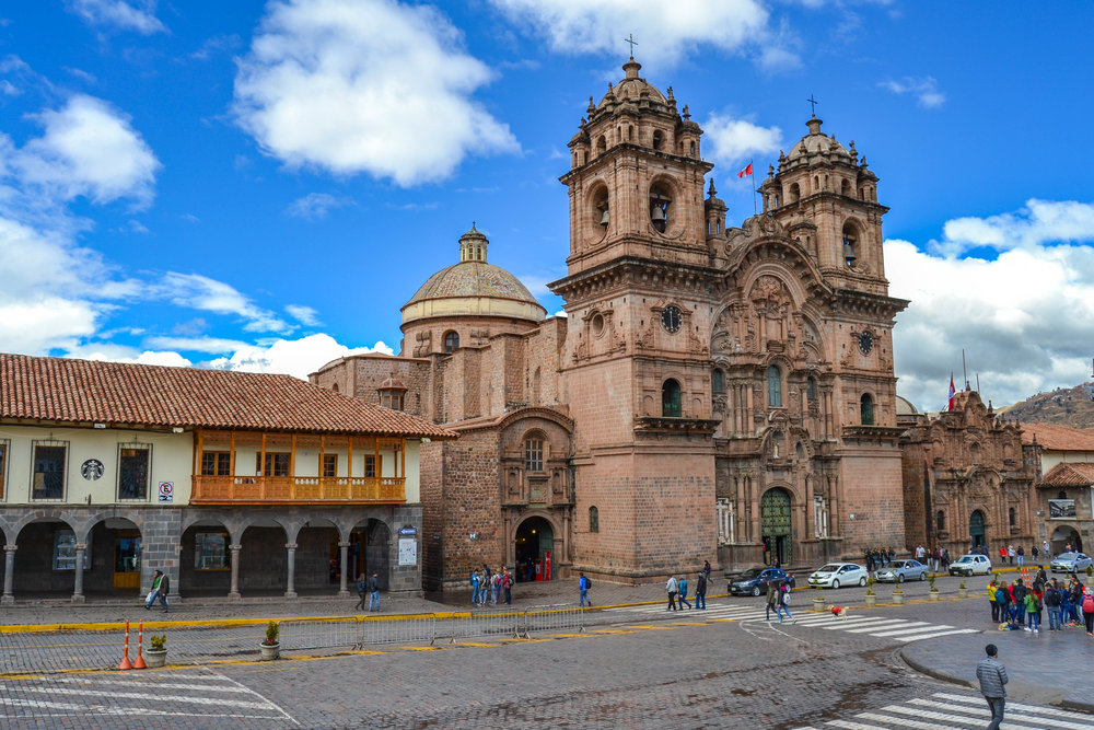Church of the Society of Jesus in Cusco