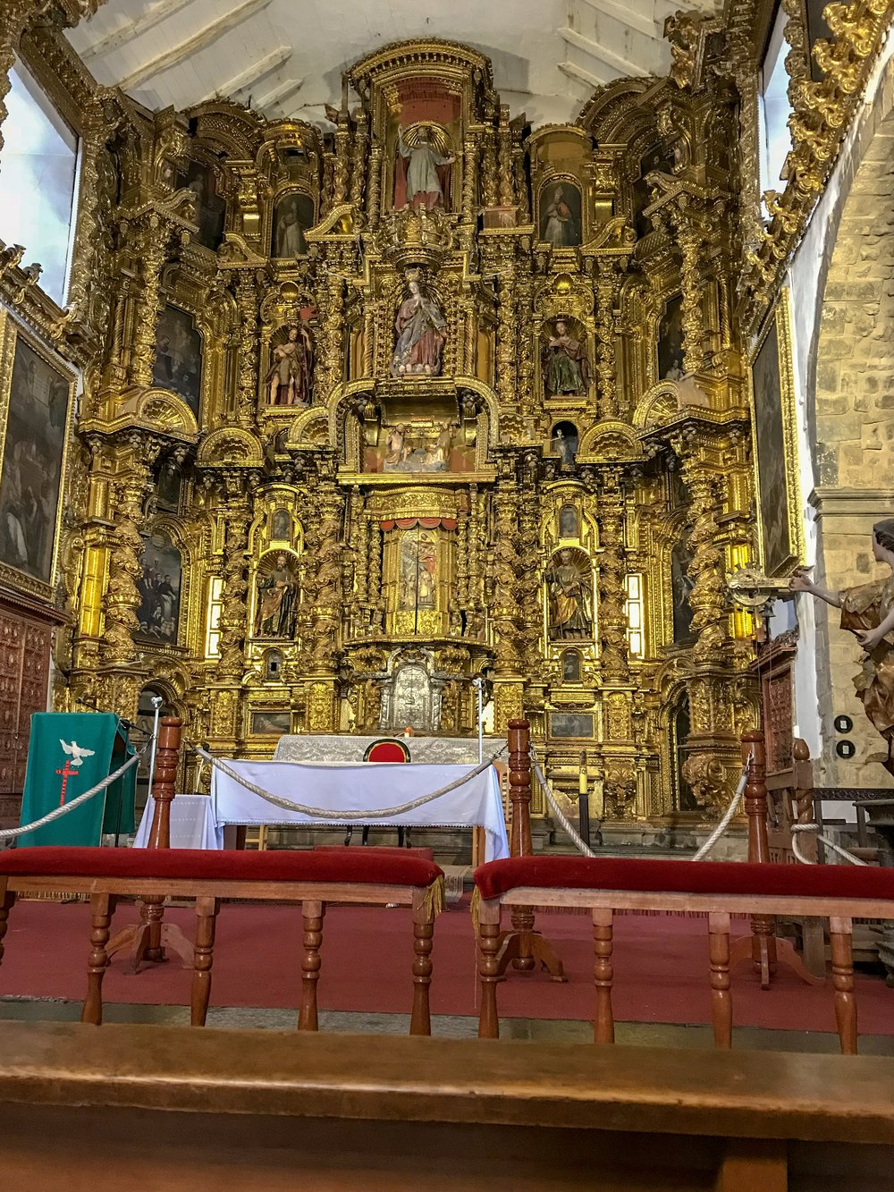High Altar in the Church of Saint Blase