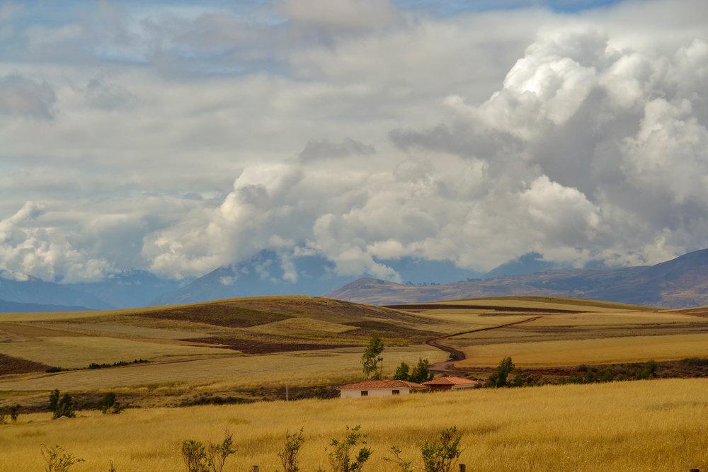 The Peruvian landscape