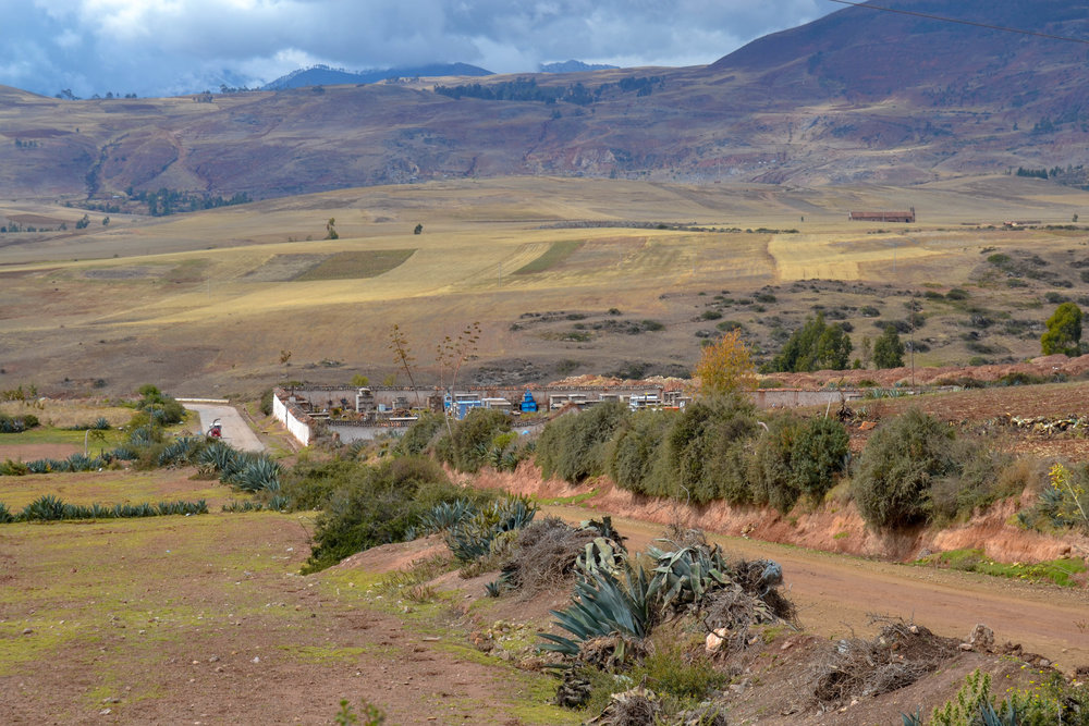 Road in the Sacred Valley