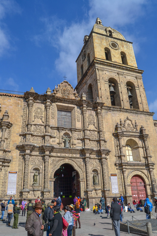 Church of San Francisco in La Paz