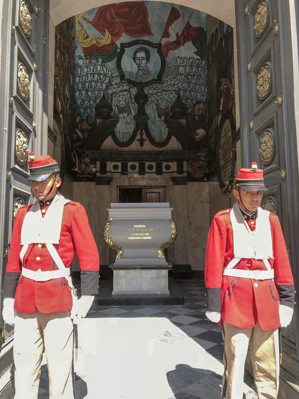 Andres de Santa Cruz Tomb